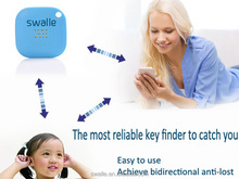 Slim bluetooth tracker For Kids Wallet Pets GPS Tracking Anti-lost Device