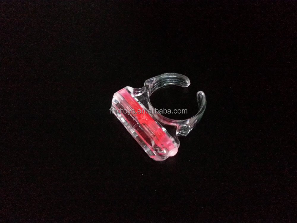 Mini Glow Sticks Ring Finger Rings Party Red Flashing Silicon Rings Glow Stick China Manufacturer