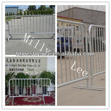 removable steel traffice fence barrier Pedestrian Rush Barrier Fencing Anping factory