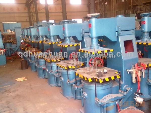 upper and bottom flask jolt squeeze molding machine