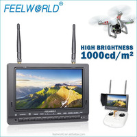 Dji spreading wings s1000 premium for fpv monitor 1000cdm2 brightness built in battery and dual receiver