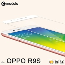 Mocolo Wholesale Full Cover Anti-Oil Anti-Shock 9H 2.5D Premium Tempered Glass Screen Protector For Oppo R9S