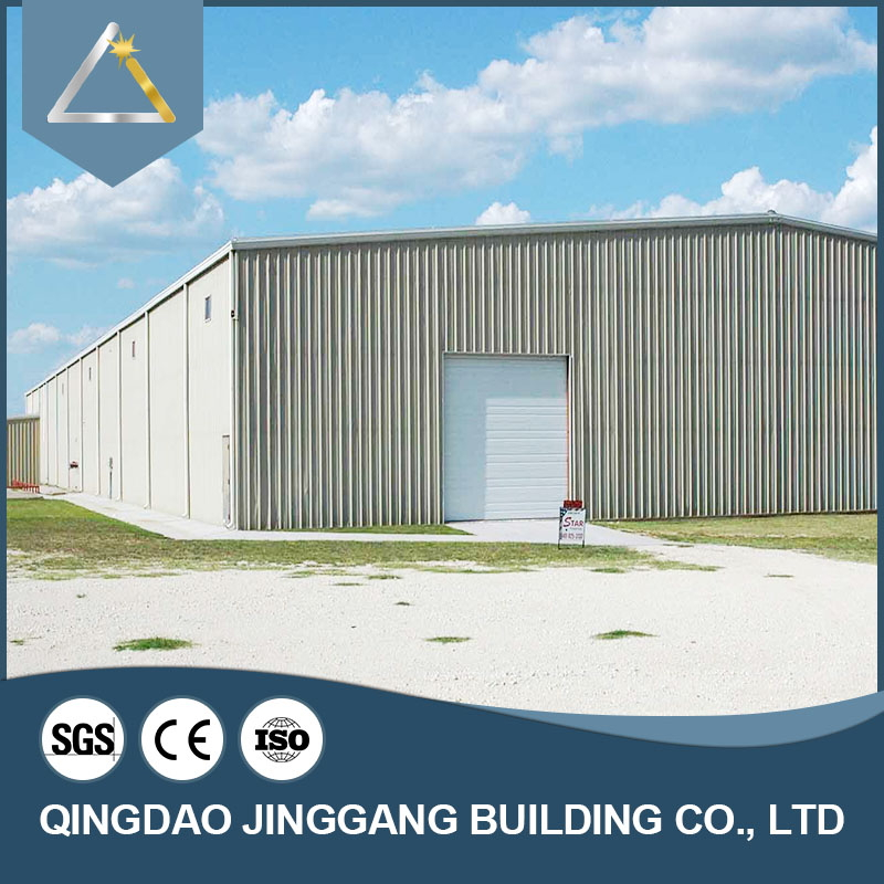 High Quality Factory Large Span Prefab Steel House