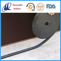 Swelling rubber waterstop for concrete sealing