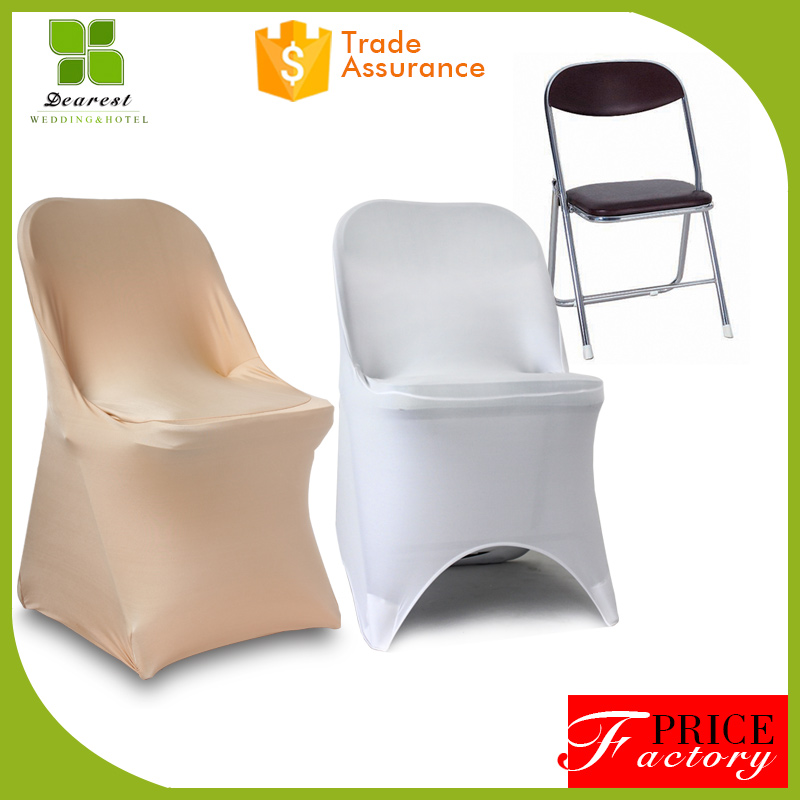 High quality long duration heated spandex folding chair cover with best and low price