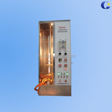 IEC60332-1-1 Single Vertical Wire and cable fire resistance testing chamber