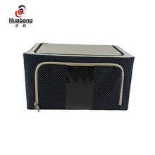 Factory Direct Sale Hot Non-Woven Fabric Foldable Storage Box