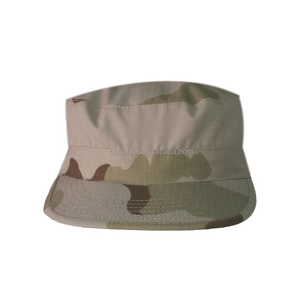 Cheap field tactical flat top military cap
