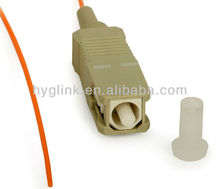 FTTH fiber optical pigtail with different connecter