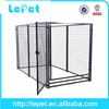 Backyard and garden low MOQ heavy duty welded wire mesh dog iron cage