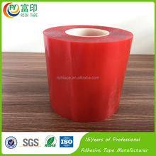 Red Film Die Cutting Transparent PET Tape 3M