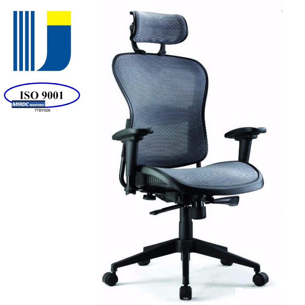 High-back mesh executive ergonomic swivel office chair adjustable headrest 5892AX-5168