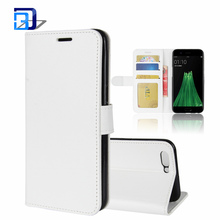 Mobile Phone Accessories PU Leather Card Slot Case Magnetic Closure Stand Cover Folio Flip Wallet Case for OPPO R11