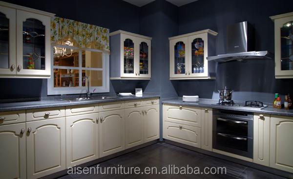 China Cheap White Color Pvc Kitchen Cabinet Buy Modular