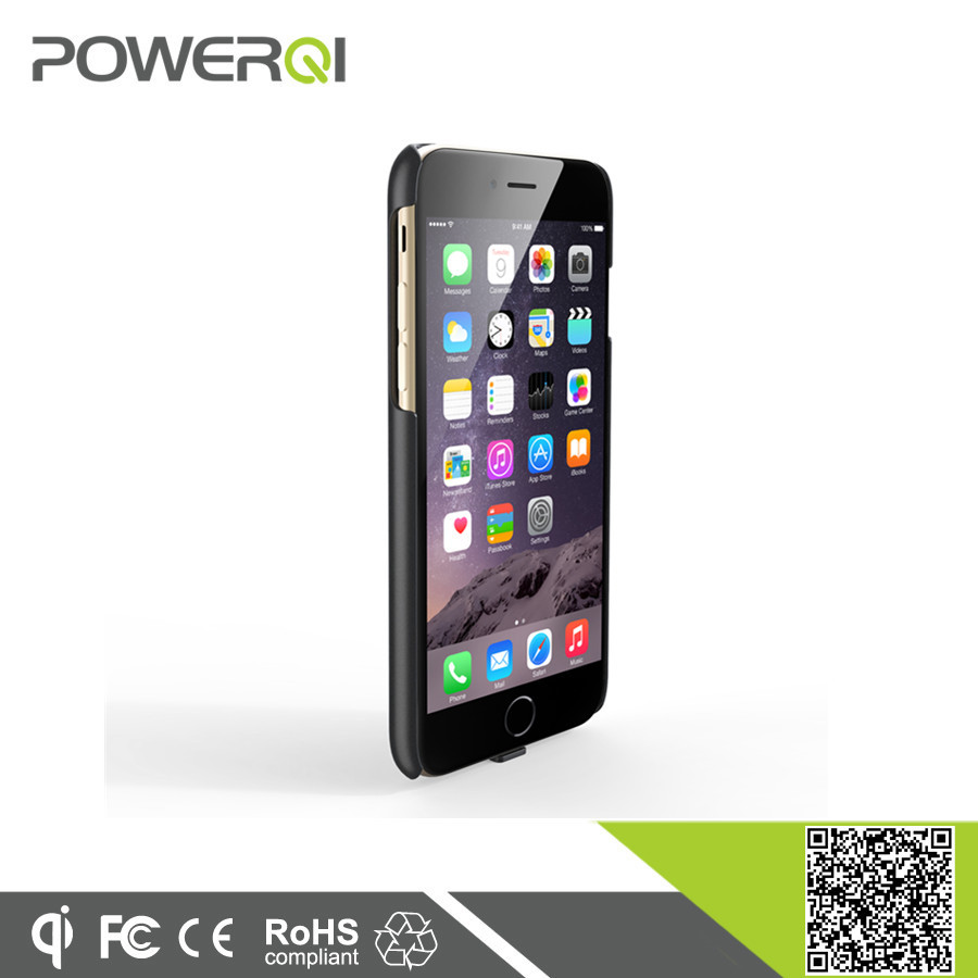 Powerqi wholesale new smart phone accessories protective charging case for latest coming iPhone 6