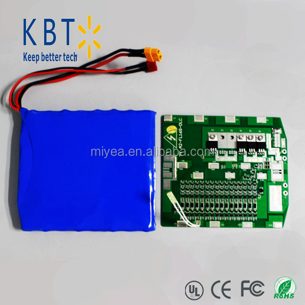 High rate discharge Lithium rechargeable battery pack 60v