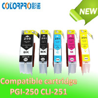China supplier compatible ink cartridge PGI 550 CLI 551 for Canon Pixma ip 7250/Pixma MG5450/Canon PIXMA MX925