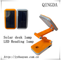Flexible rechargeable led desk study lamp/solar desk lamp