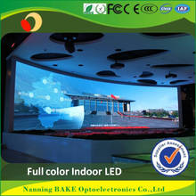 China Die Casting Aluminum Indoor /outdoor full color HD pixel pitch 6mm second hand led display screen