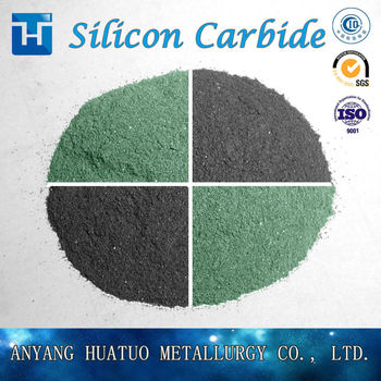 Huatuo 99.95% Green Silicon Carbide for Export