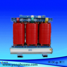 Factory export SCB Dry type transformer with temperature control system air cooling , electrical transformer