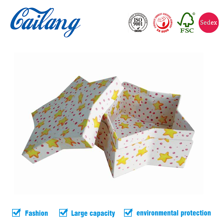 New Design Star/Flower/Number/Heart/Polygonal Shaped Paper Candy Gift Box Packaging Chinese Creative Wholesale Supplier