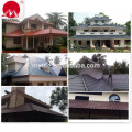2017 China Building Construction Material Villa House Interlocking Roof Tiles