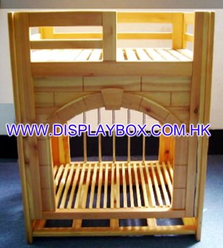 WDS074 Wooden Pet House