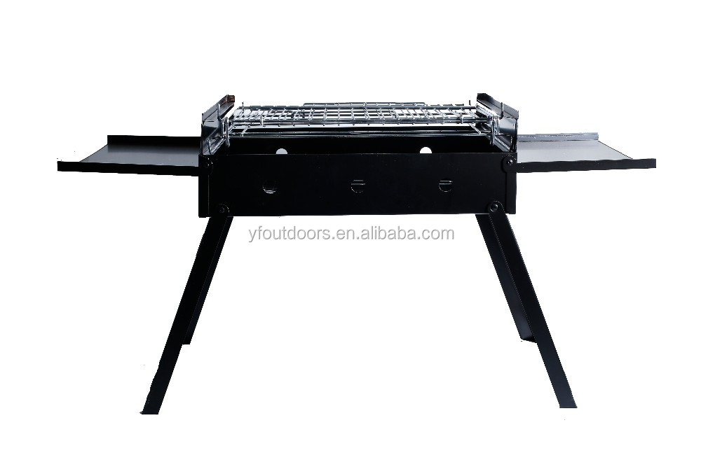 High quality low price rectangular charcoal bbq grill