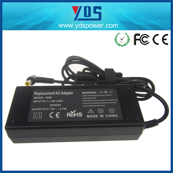 Universal Power Adapter/notebook Charger AC Adapter/laptop Adapter 90watt For asus with DC size5.5*2.5