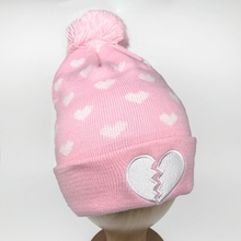 Cute Cat Stripe Newborn Baby Kid Girl Boy Infant Headwear Cotton Beanie Hat Cap
