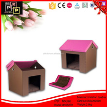 Comfortable Suitable Imitation Leather Large Pet House