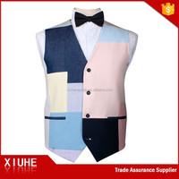 2017 Most Fashionable Montage Polyester Vest Coat For Men