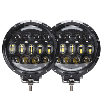 "Loyo original wholesale osram 105w 7"" round led lights for Jeep patriot truck bumper"