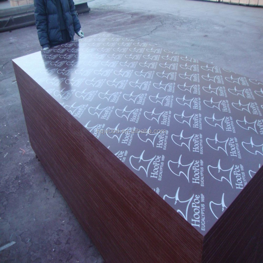 Construction plastic formwork plywood ,18mm thickness film faced plywood price
