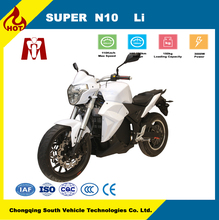N10 5000w high speed 72V Lithium battery electric motorcycle