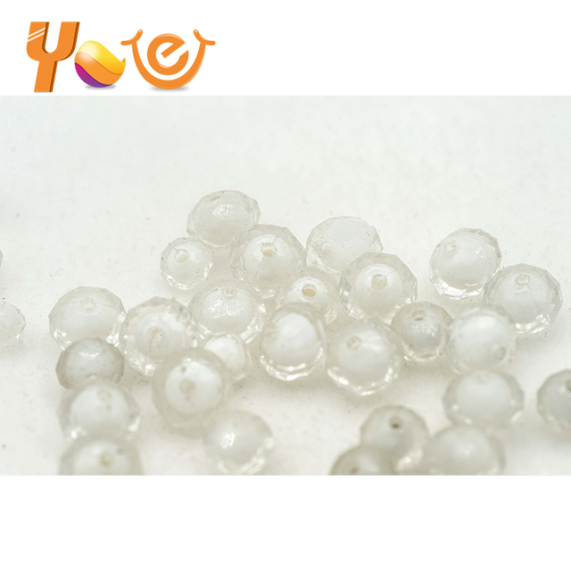 Clear crystal acrylic plastic beads