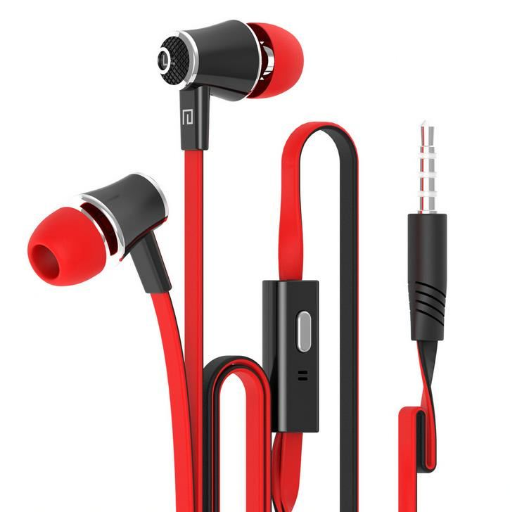 Earphone for mobile phone MP3 MP4 stb sporty stereo earphone