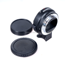 Commlite Auto focus AF lens mount adapter from EF lens to E-Mount Camera