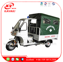 KAVAKI Motor 250CC Air Cooled Tricycle Big Cargo Box Three Wheel Motorcycle for Ambulance