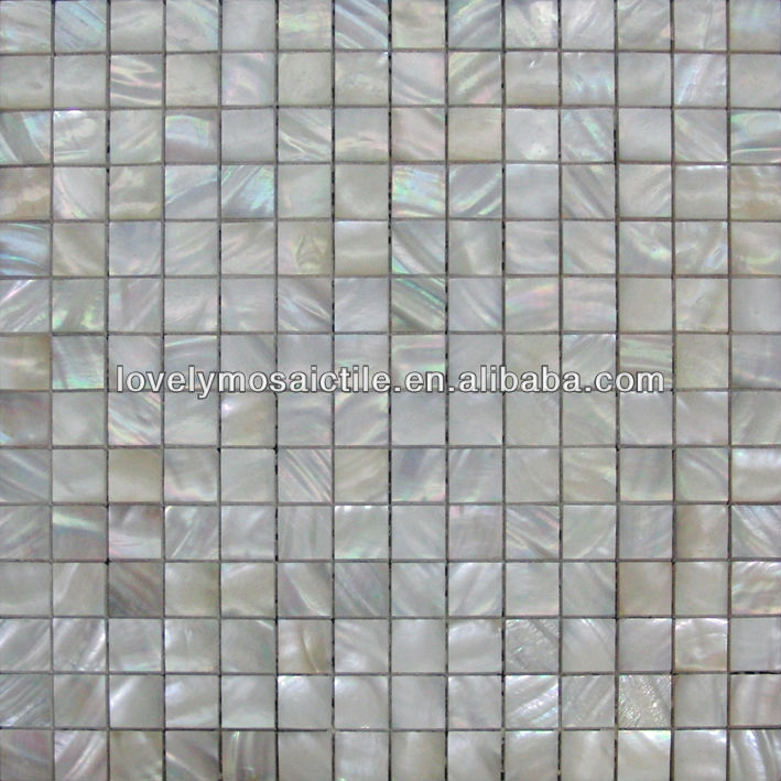 2016 Shell Mosaic Mother of Pearl Natural Mosaic Tiles White Mosaic Tiles