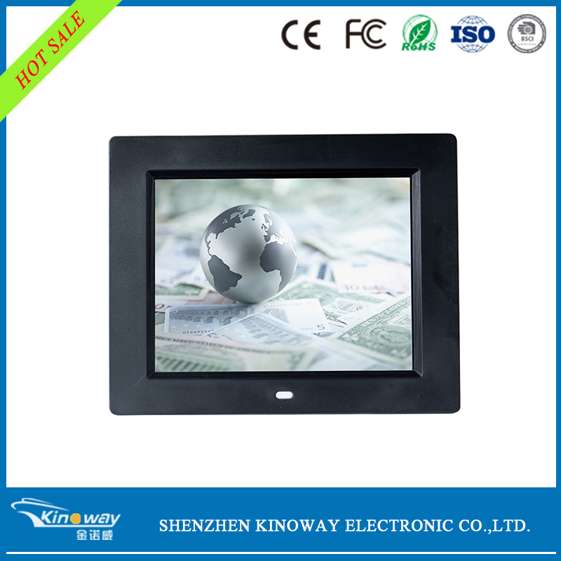 7 8 10 12 15 17 19 22 32 inch digital photo picture video lcd frames with CE ROHS FCC ISO9000 BSCI