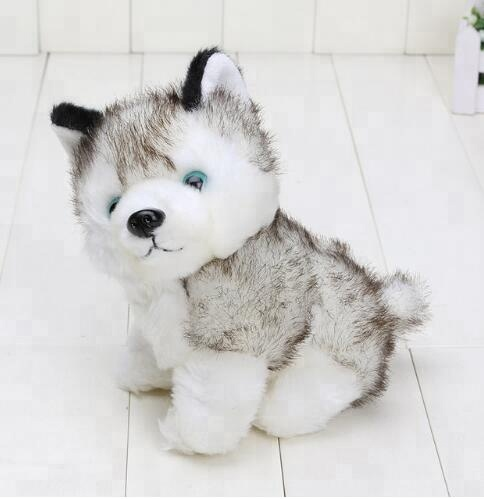 Cute Husky Stuffed Animals <strong>Plush</strong> Dog Toy Free Shape-Shifting Baby Soft Husky <strong>Plush</strong>