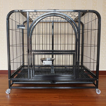 factory price best animal dog cages black pet crates for sale