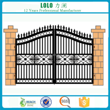 Outdoor Double Swing Garden Fence Gate Main Gate Design