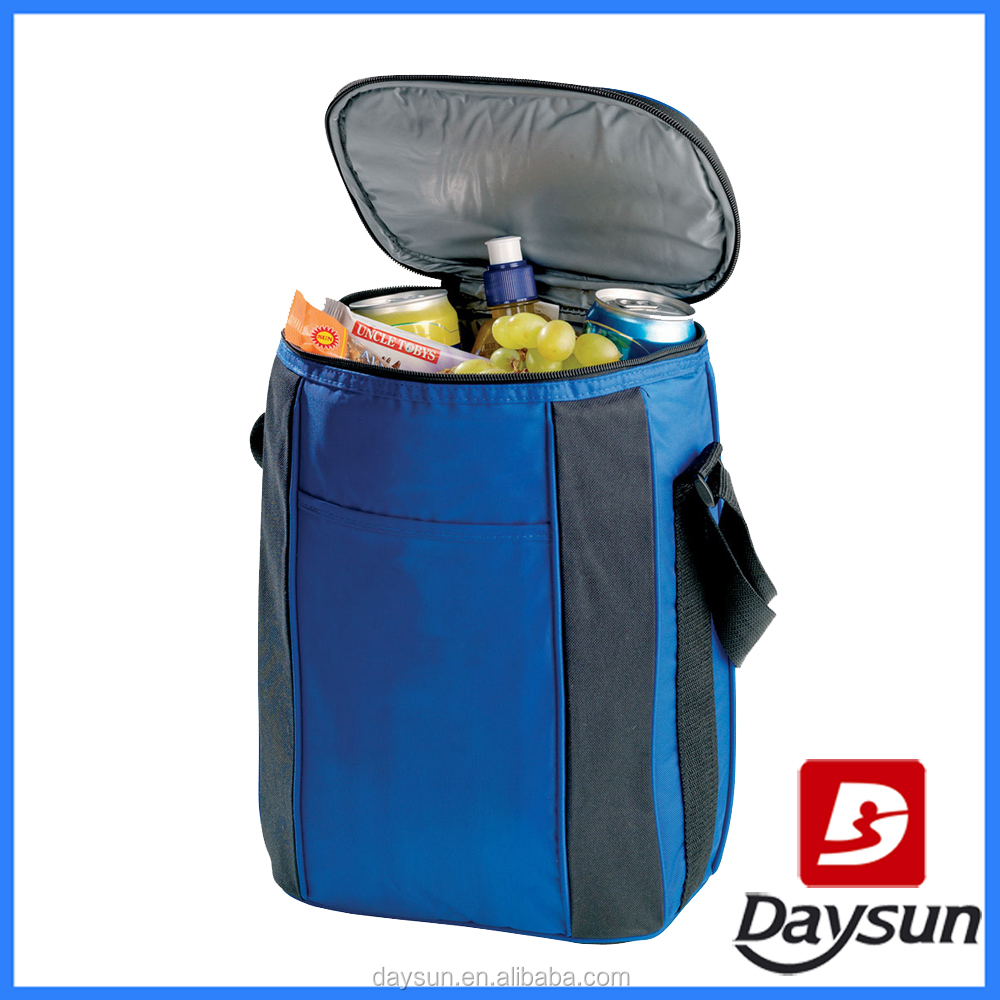 Thermal wine cooler bag duffel insulated cooler bag with PEVA environmental lining