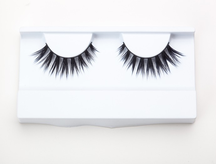 Hot selling reusable handmade 3D faux mink eyelashes natural falsies with OEM service