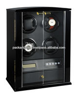 4 Rotors Super Silent Watch Winder 2 colors for optional