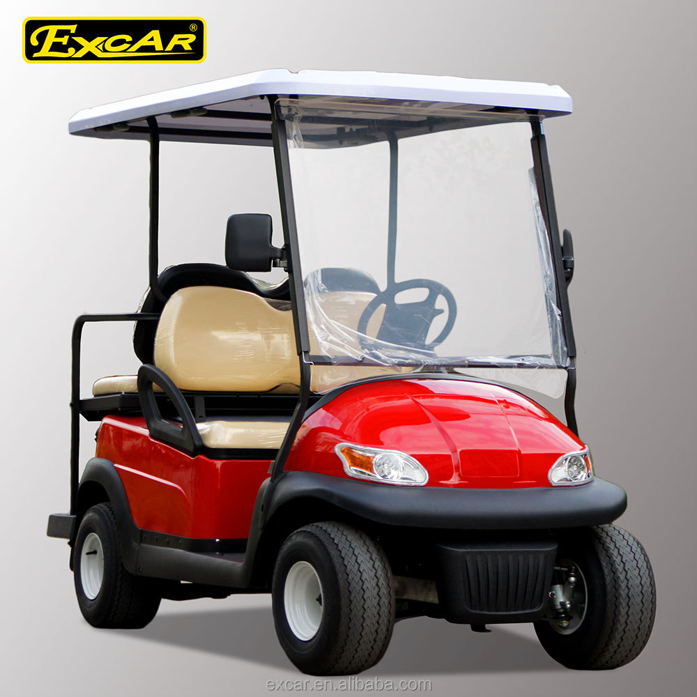 2 front seats plus 2 rear seats cheap electric golf cart for Motorized carts for sale
