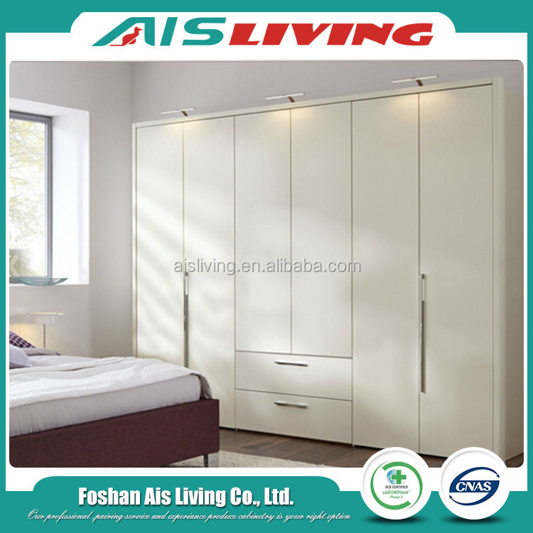 2017 New Design Wardrobe With Sliding Door For Bedroom Furniture (AISWA-014)